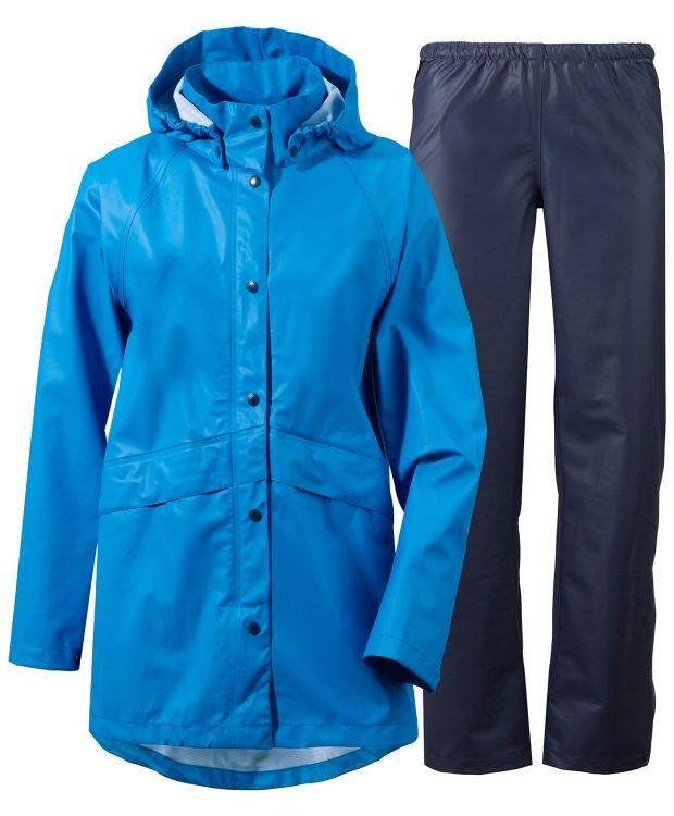 Didriksons Avon Pu Sett 100 % Polyuretan 100 % Polyester Regntøyet er en del av Didriksons STORM SYSTEM som er utviklet for særdeles dårlig vær. Skall- tekstiler er 100 % vanntette og alle sømmer er forseglet med tape/eller sveiset. STORM SYSTEM produktene handler om beskyttelse og de er designet for å holde deg varm og tørr i alle værsituasjoner.
