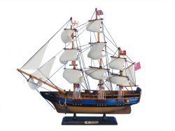 Wooden HMS Bounty Tall Model Ship 20