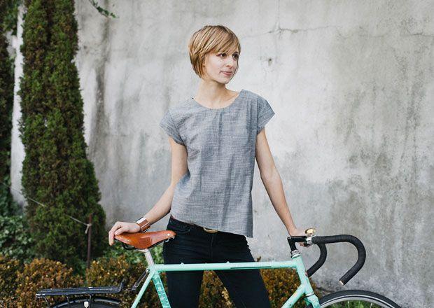 Iva Jean Bike Daily Blouse