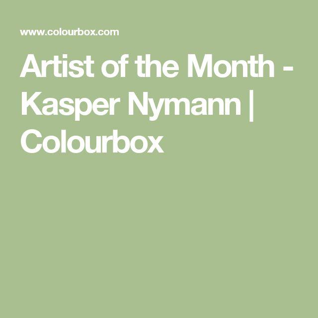 Artist of the Month - Kasper Nymann   Colourbox
