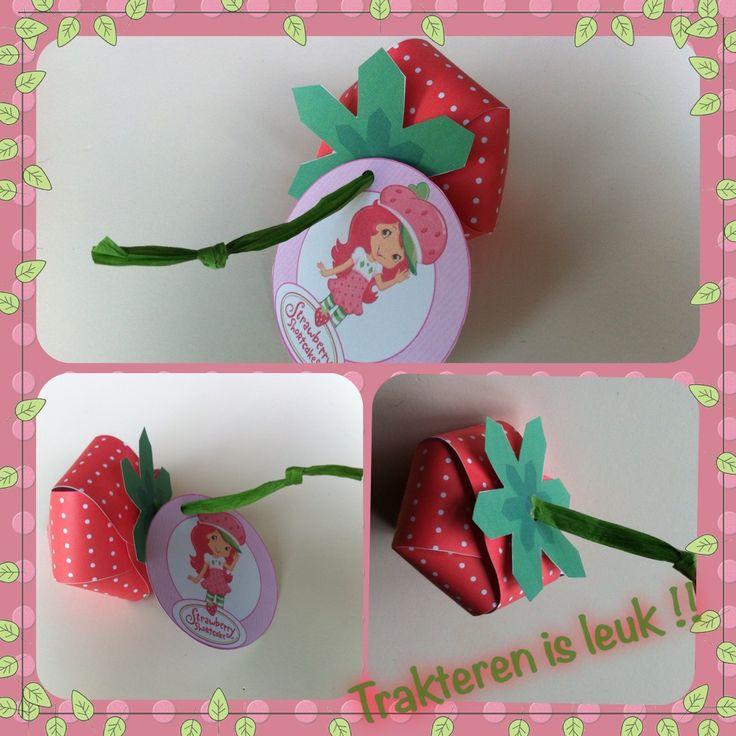 Strawberry Shortcake traktatie