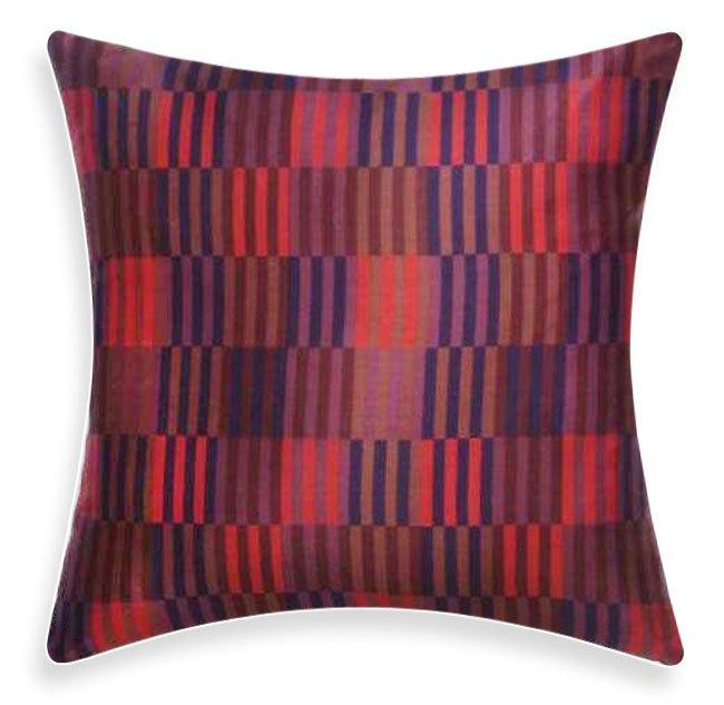 FEATURED ON HGTV Marimekko Purple Pillow Hirsi by ModDiva on Etsy