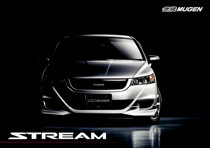 Honda Stream Mk2 Mugen Japan Brochure 2012