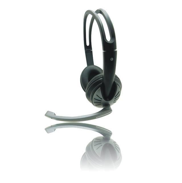 iMicro SP-IMME282 Wired USB Headphone w- Microphone & Volume Control (Black)