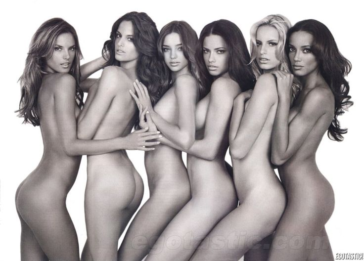 love-butts: Alessandra Ambrosio, Izabel Goulart, Miranda Kerr, Adriana Lima, Karolina Kurkova & Selita Ebanks
