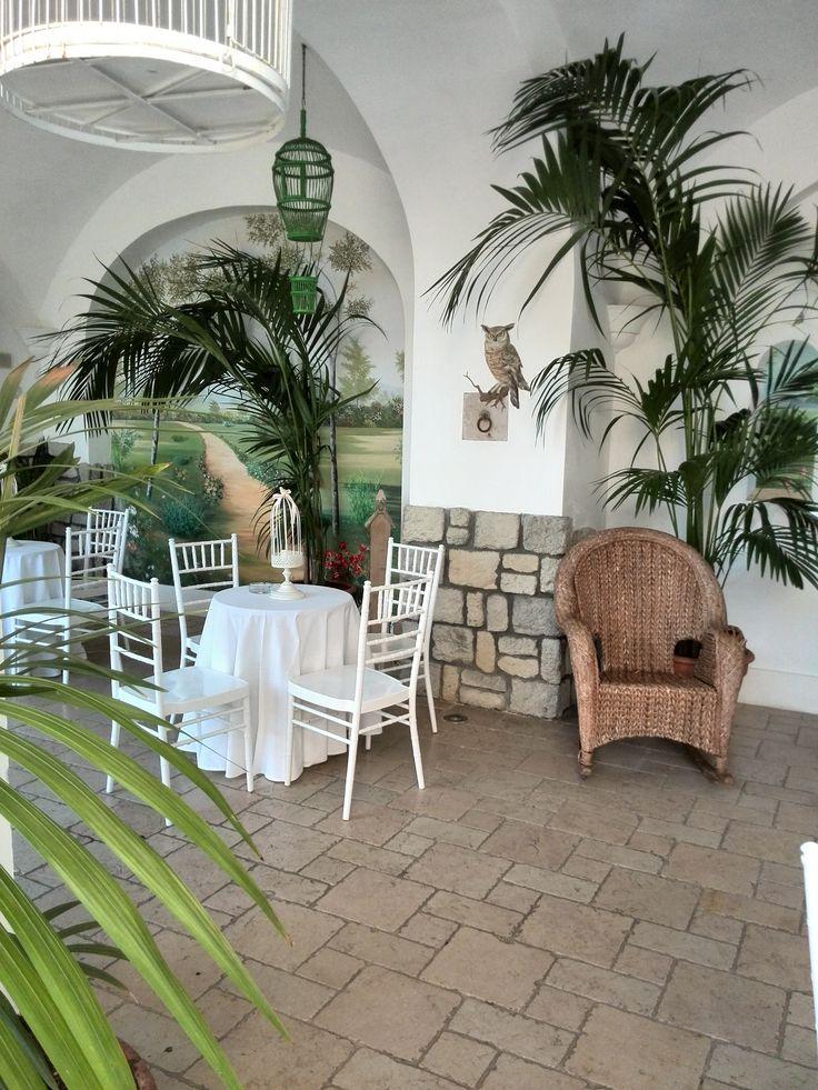 il patio della Tenuta. Wedding Day