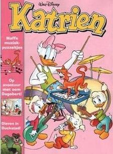 Speciaal voor meisjes is er de Katrien. Want de Donald Duck is wel heel leuk, maar wij meiden willen toch ook graag een eigen blad, nietwaar? Katrien staat boordevol strips en verschijnt elke twee maanden.