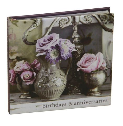 Gift Stationery - Rachel Ashwell Couture Prairie Birthday Book - Stationery - Prose - pjsandprose.com