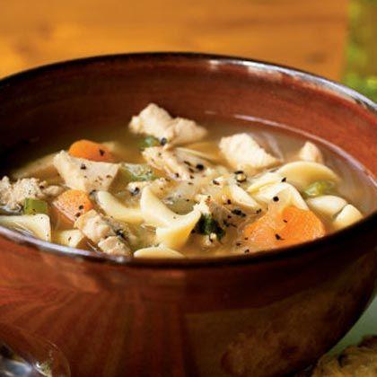 Cozy Turkey Soup SupperTurkey Soup, 35 Minute, Fresh Veggies, Turkey Noodles Soup, Cooking Lights, Favorite Soupsstew, Soup Recipe, Noodle Soups, Tenders Turkey