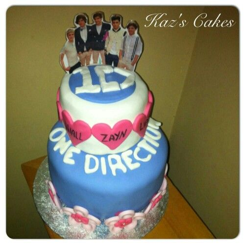 Pin One Direction Cakes Tumblr Cake On Pinterest  LONG HAIRSTYLES