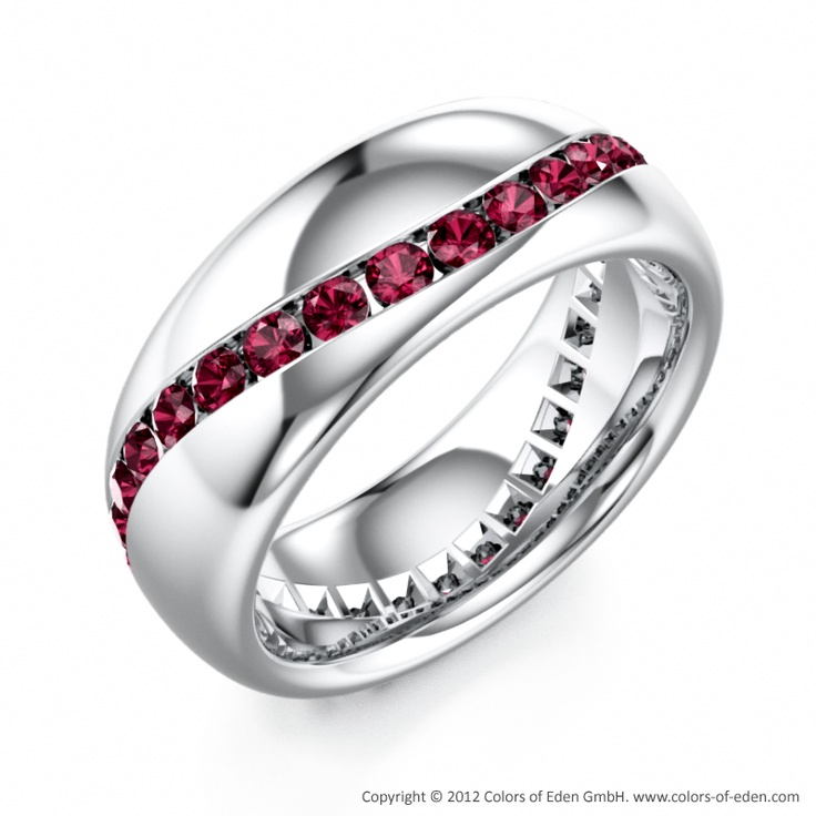 garnet wedding band would like this one for my wedding ring if it was in gold