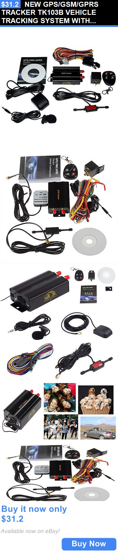 Tracking Devices: New Gps/Gsm/Gprs Tracker Tk103b Vehicle Tracking System With Remote Control Usa BUY IT NOW ONLY: $31.2