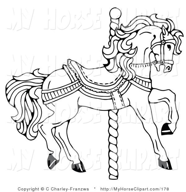 195 Best Carousel Animals Images On Pinterest