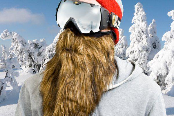 Gafas para esquí con barba tupida - http://www.ocompras.com/deporte/gafas-para-esqui-con-barba-tupida gafas con barba, gafas para deportes, gafas para esquí