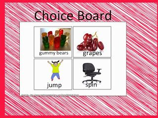 Superteach's Special Ed Spot: Fostering Communication Through Choice Boards