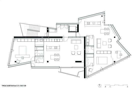 Casa Pico Building,Plan
