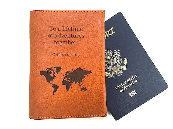 Pport Cover With Quote Uni Wallet Handmade Leather Holder Personalized