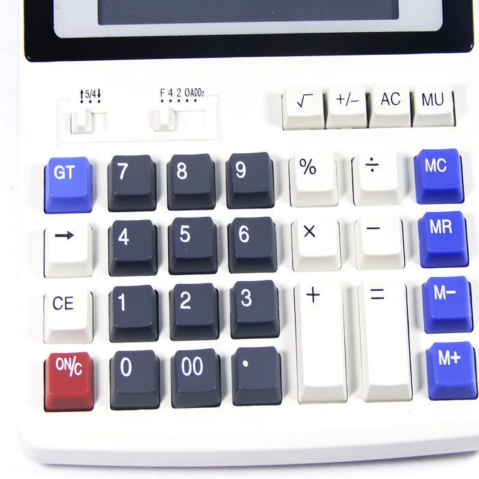 BIG New Office calculator Large computer keys DS 200ML computer Solar Calculator. Click visit to buy #Calculator