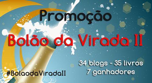 #Promoção Bolão da Virada II: 34 blogues, 35 #livros, 7 ganhadores http://www.leitoraviciada.com/2013/11/promocao-bolao-da-virada-ii-34-blogues.html  #Sorteio #Livro #blogs #blog #Literatura