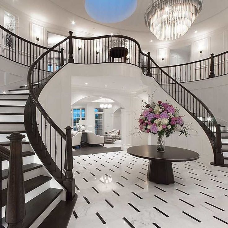 a magnificent new luxury residence situated in prestigious british properties featuring this grand entrance marble foyer marble foyerluxury home decorgrand - Luxury Home Decor
