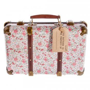 Sass & Belle Vintage Floral Storage Suitcase - Sass & Belle from Mollie & Fred UK