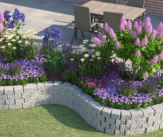 Mauern Im Garten Anlegen: Die Besten 25+ Steinmauer Garten Ideen Auf Pinterest