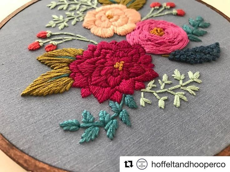 @hoffeltandhooperco #needlework #handembroidery #bordado #embroidery #ricamo #broderie