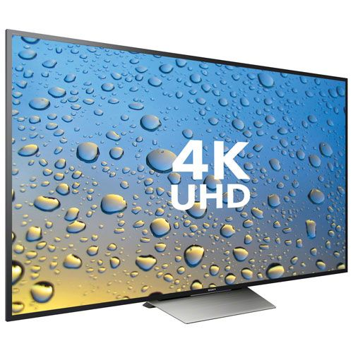 "Sony 85"" 4K UHD HDR Android Smart TV (XBR85X850D) : 80 inch and larger TVs - Best Buy Canada"
