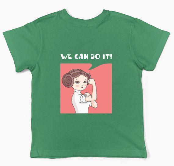 Star Wars girl shirt Princess Lia girl outfit Star Wars girl