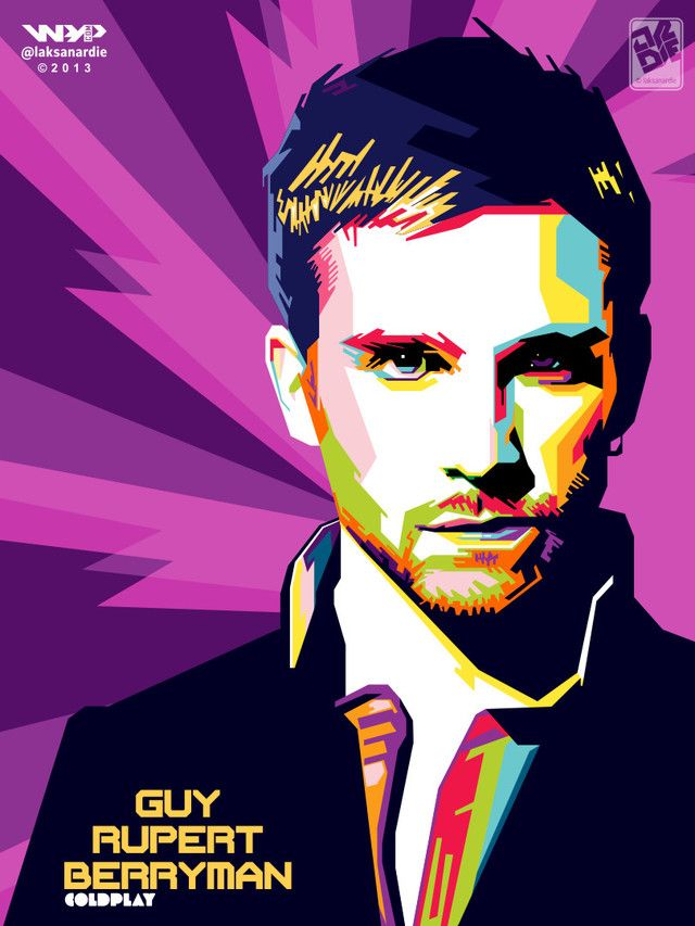 WPAP Guy Berryman by laksanardie