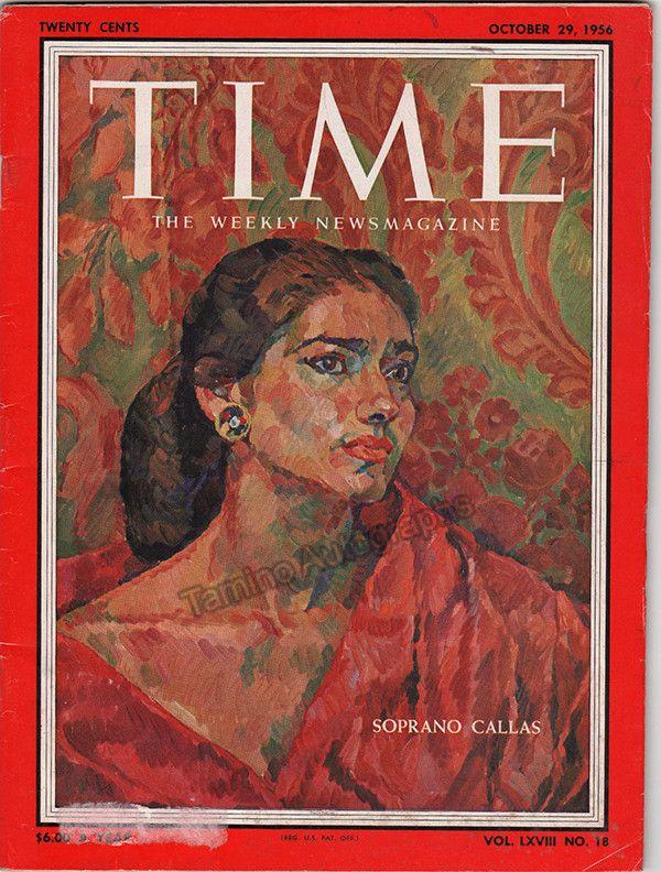 Callas, Maria - TIME Magazine 1956