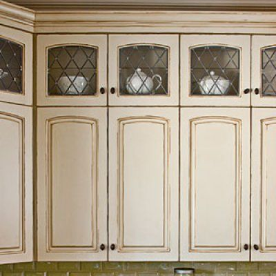 Tall Displays Creative Kitchen Cabinet Ideas