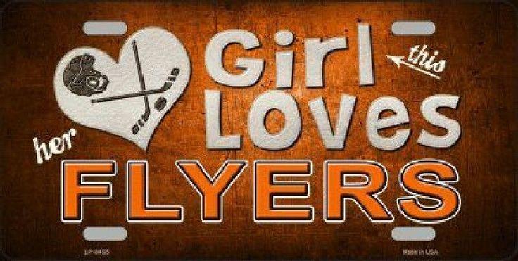 This Girl Loves Her Flyers Hockey Team #PhiladelphiaFlyers