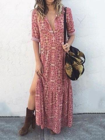ea59ddbe05a56 Dresses – RosaMiss   Mode femme en 2019   Robe, Vêtements bohémiens ...