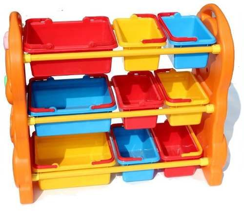 Las 25 mejores ideas sobre estanter a para guarder a en for Caja de colores jardin infantil
