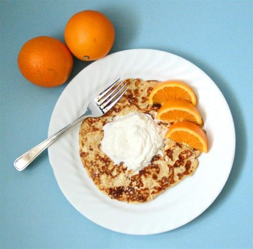 """Low Carb Cream Cheese """"Pancakes"""""""