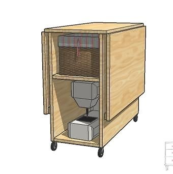Build a Sewing Table