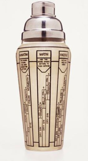 All Mad Men need a retro cocktail shaker. Pinned by www.silver-and-grey.com