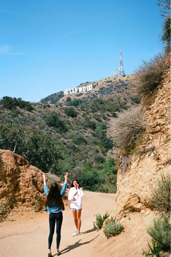 Hollywood sign... i went here a few times in high school and it is one of my favorite memories.
