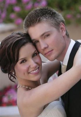 Sophia Bush and Chad Michael Murray at Their Wedding Status: Divorced