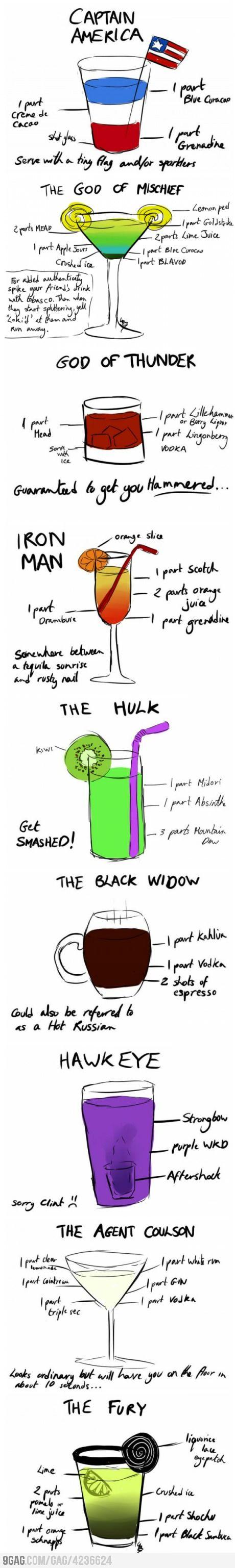 Avengers Cocktail