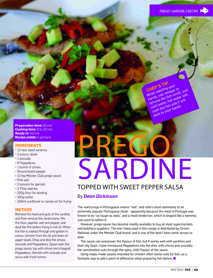 "We're taking a look back at 2014 – a truly great year of #RSD! The word prego in Portuguese means ""nail"", and refers most commonly to an extremely popular Portuguese steak – apparently because the meat in Portugal was known to be ""as tough as nails."" This one was in the May edition of #RSD and doesn't have too much to do with fishing but has a whole lot to do with delicious food!"