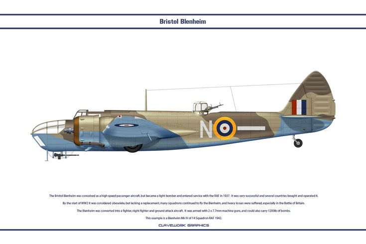 Blenheim GB 14Sqn by WS-Clave.deviantart.com on @DeviantArt