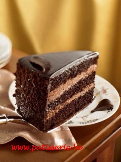 Chocoladetaart « Patisserie.be – Recepten voor patisserie, confiserie, ijs, brood en nagerechten