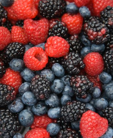 Certain flavors in berries have a chemical similarity to valproic acid, which is a prescription mood-stabilizing drug, according to research conducted by Torrey Pines Institute for Molecular Studies. The flavonoid anthocyanidin found in berries also reduces inflammation, which has been associated with increased rates of depression.  For recipes starring berries, try 18 Totally Creative Strawberry Desserts.   - Delish.com