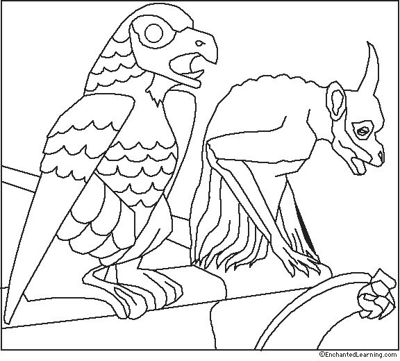 eve bunting coloring pages - photo#11