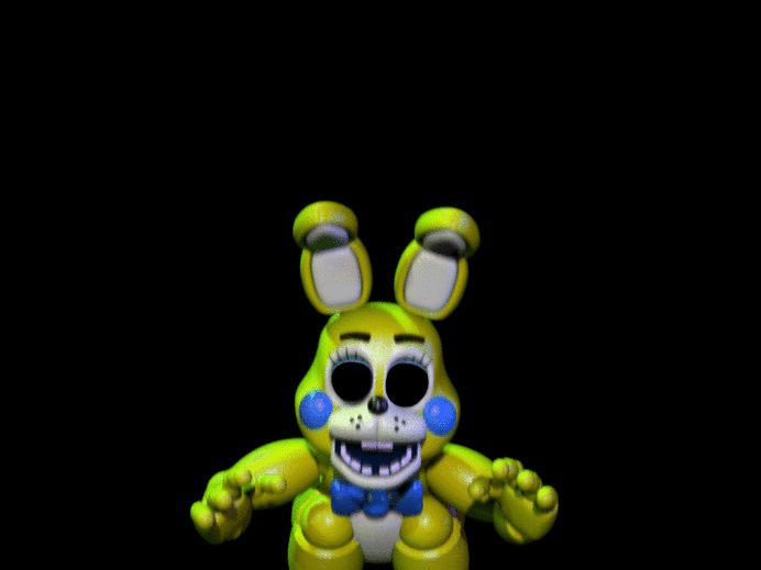 Golden Toy Bonnie JumpScare by GamerAustin9 on DeviantArt ...