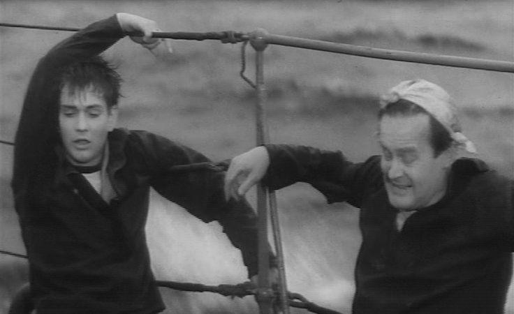 som Tom, i Sorte Shara - Alarm i Østersøen fra 1961. (her sammen med Christoffer Bro)