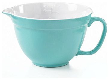 Martha Stewart Collection Batter Bowl, 2-Quart transitional-mixing-bowls
