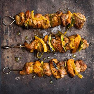 Cape Malay Sosaties - inspired by Leipold, the longer they are left in the marinade, the better they become. The marinade also works well with lamb chops.   Crush Magazine Recipe